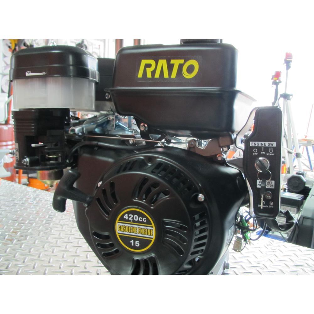 Двигатель с горизонтальным расположением вала Rato R420E