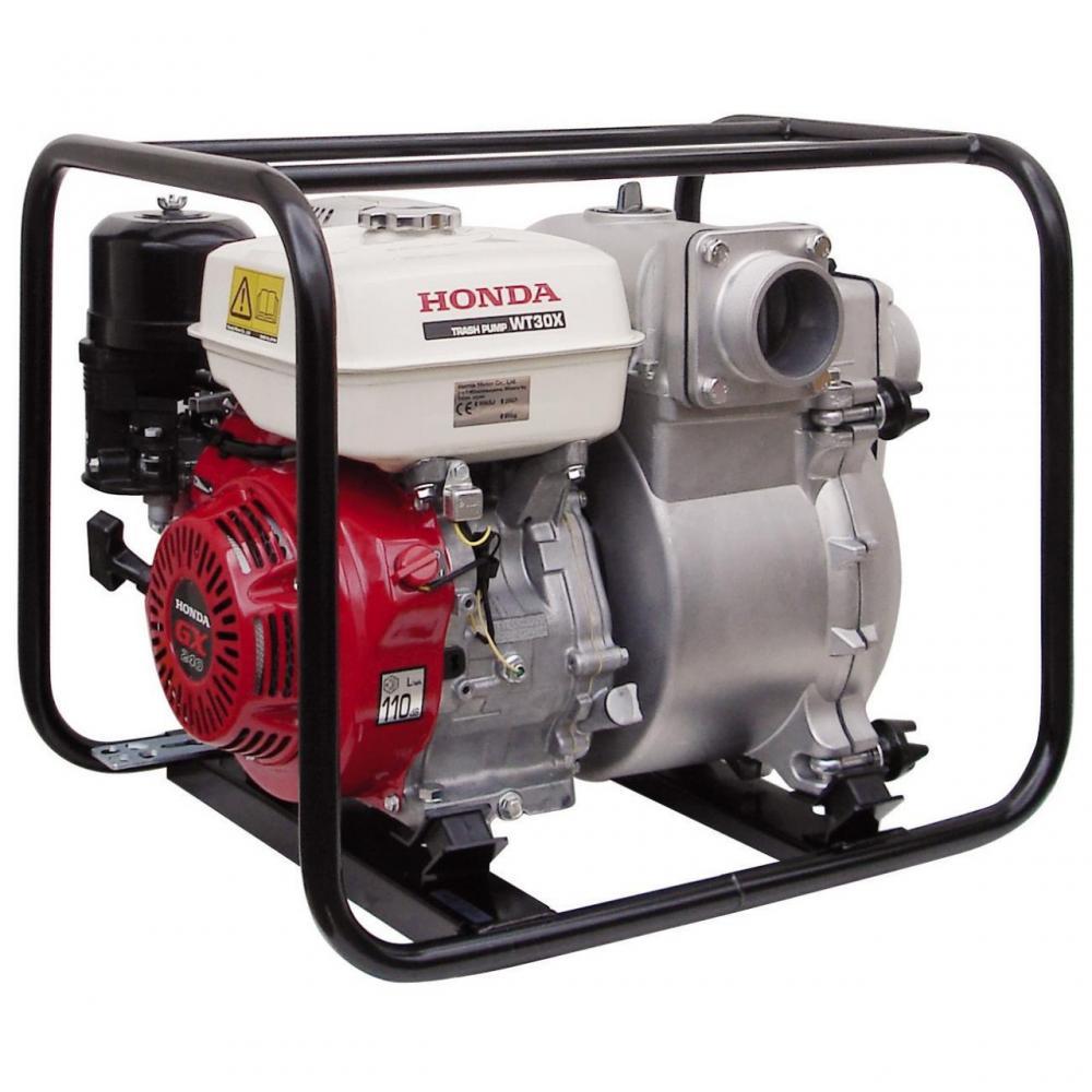 Мотопомпа для грязной воды Honda WT 30