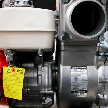 Мотопомпа для грязной воды Koshin KTH-100X - slide3
