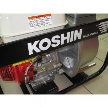 Мотопомпа для полугрязной воды Koshin STH-100X - slide6