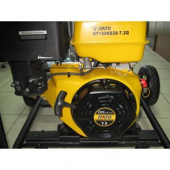 Мотопомпа для грязной воды Rato RT100NB26 - slide2