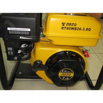 Мотопомпа для полугрязной воды Rato RT80WB26-3.8Q - slide2